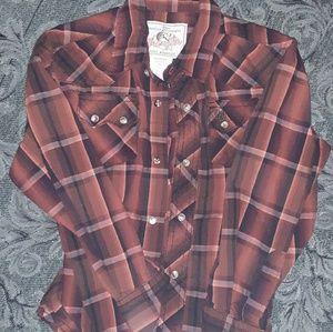 Boys wrangler shirt
